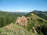 Red Butte\'s other summits