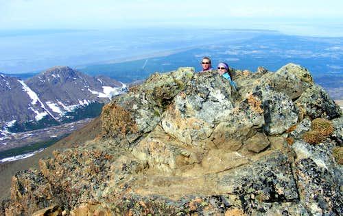 O'|Malley Peak summit