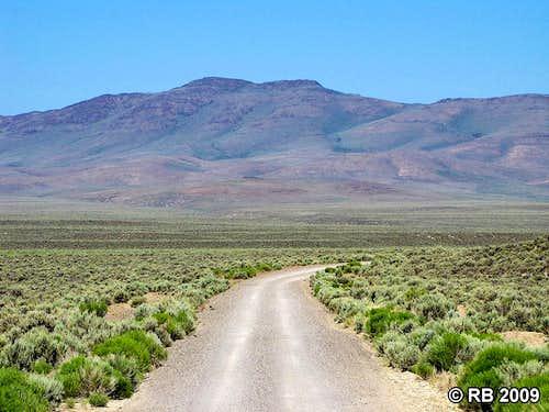 Adobe Range HP from Coal Mine Road