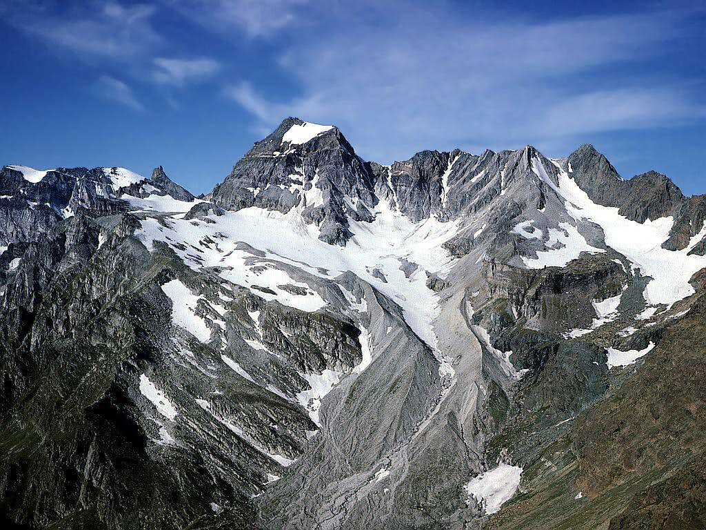 Minor summits of the Alps