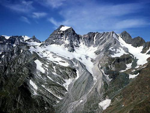 Minor summits of the Alps
