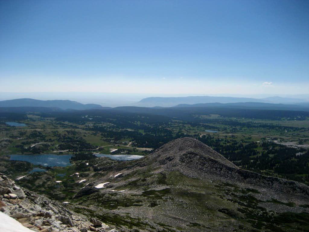 Summit view SE