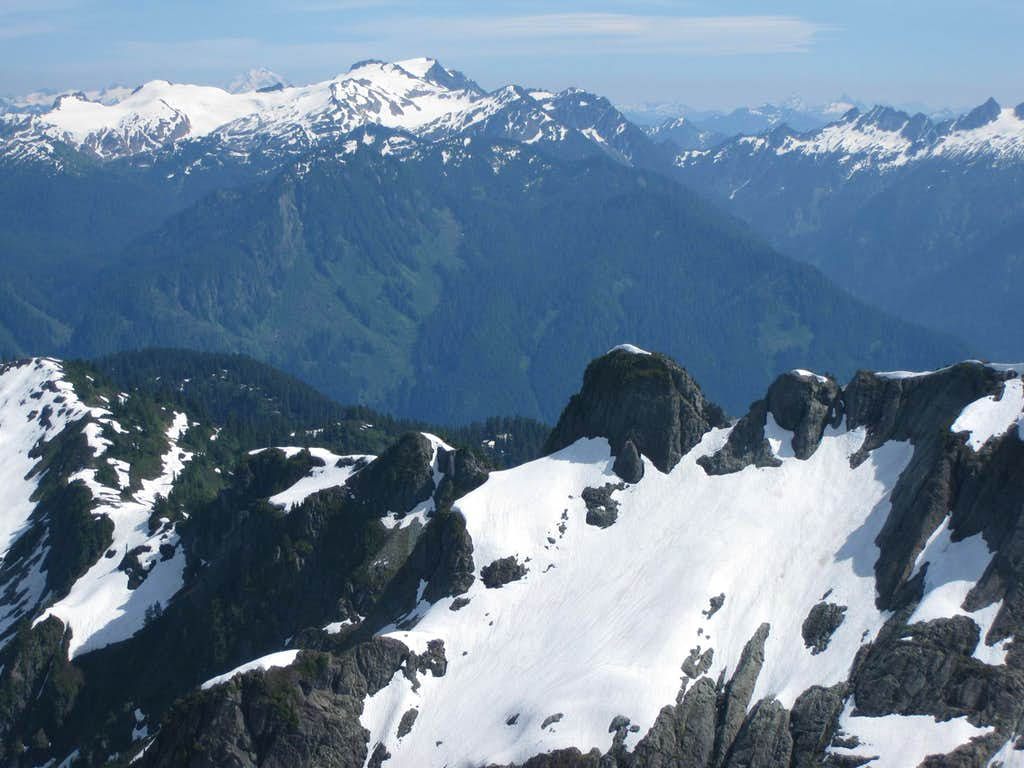 Panorama from Sulphide Glacier