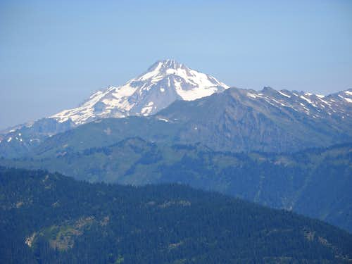 Glacier Peak From Shoofly