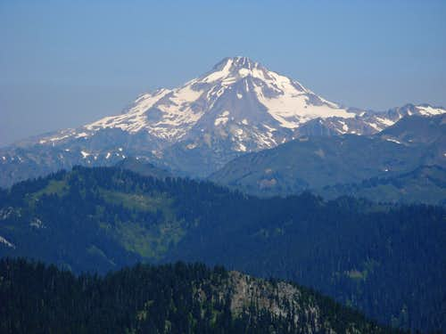 Glacier Peak From Fall Mountain