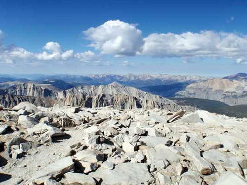 Mt.Guyot from Mt. Whitney