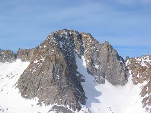 Mount Mendel seen from just...