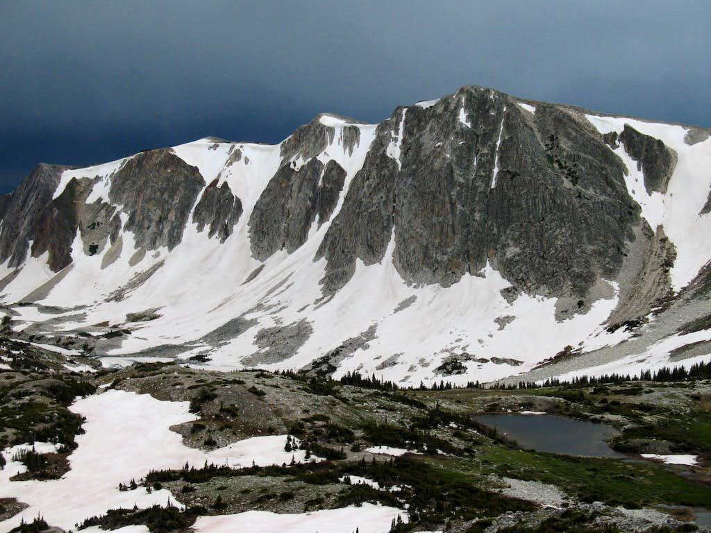 Medicine Bow Peak (South of the Summit)
