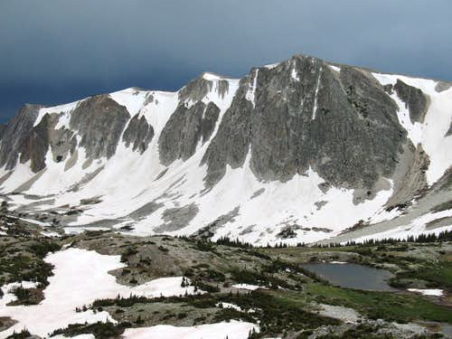Medicine Bow Peak (South of the Summit)