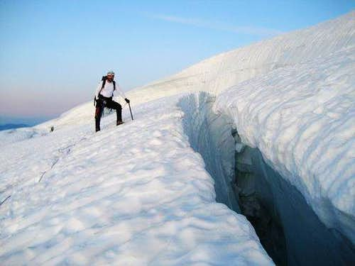 Checking out Crevasse
