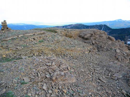 The Summit of Targhee Peak
