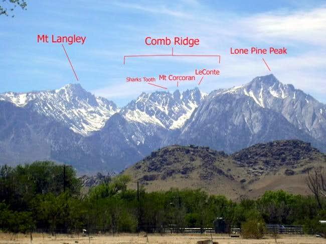 Comb Ridge & Neighboring Peaks