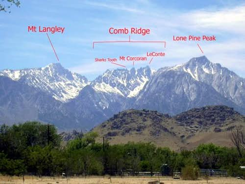 Comb Ridge & Neighboring Peaks