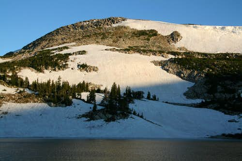 Upper (West) Glacier Lake