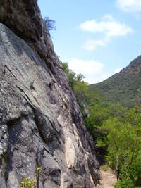 Profile View of Foothill Crag