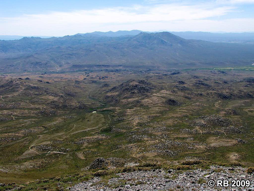 Ellen D Mountain summit view