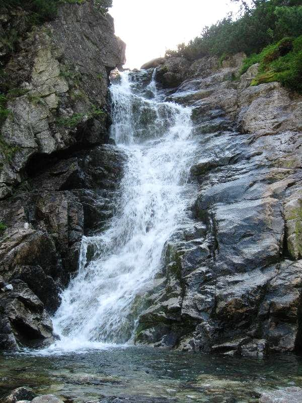Tatras\' waterfalls