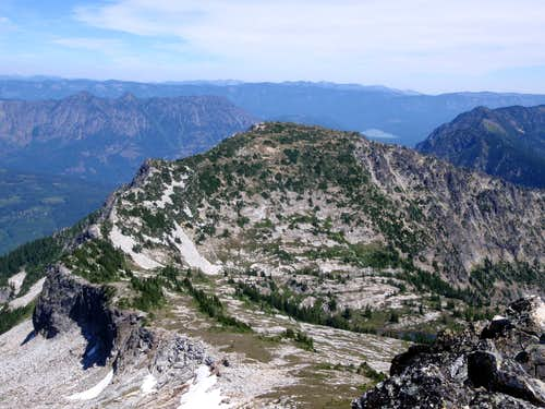 Mount Mastiff West Face