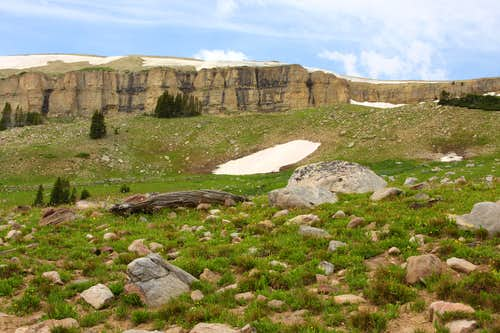 North End of Beartooth Butte