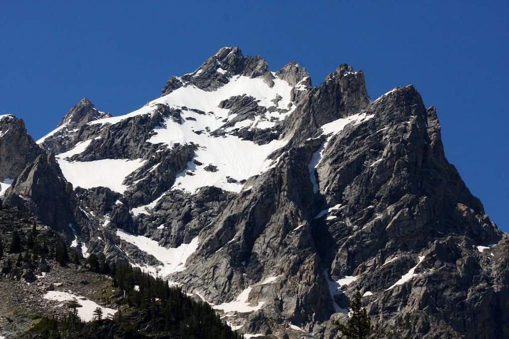 Mount Owen from Cascade Canyon