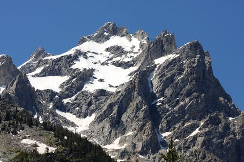 Mount Owen from Cascade Canyon