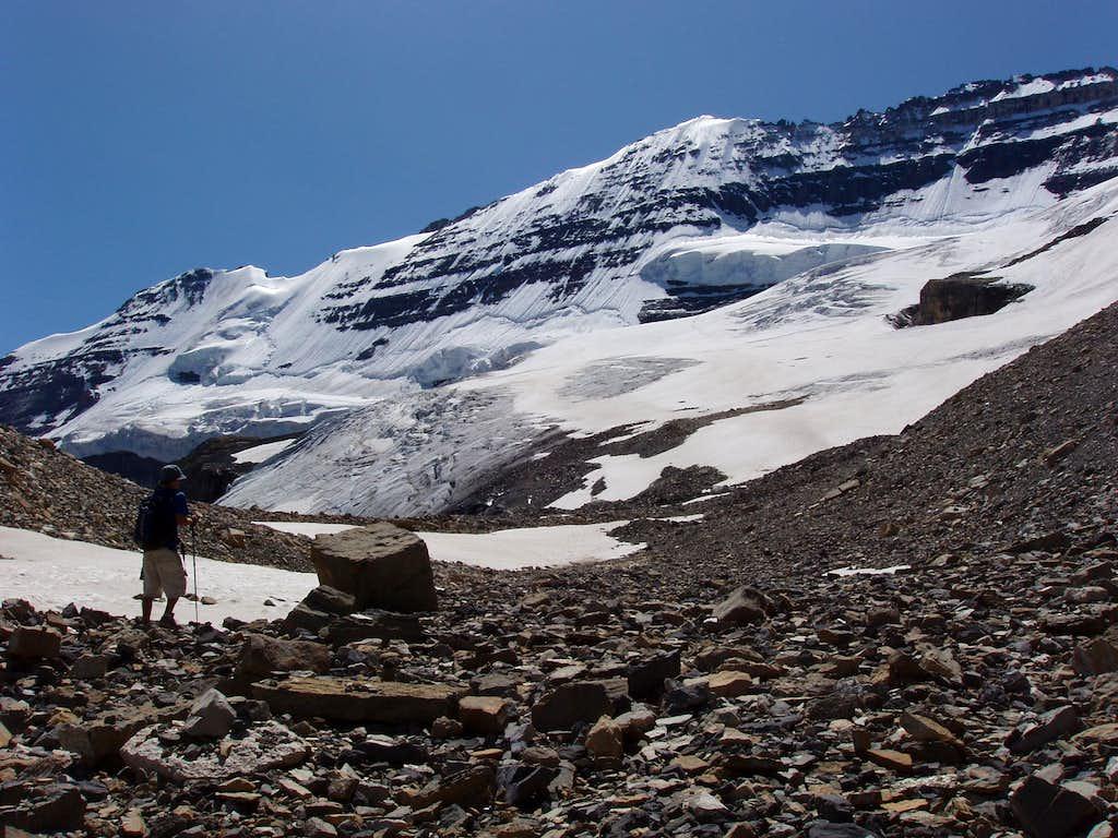 Upper Victoria Glacier