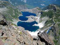 Alpine Tarns Below Sutton Peak