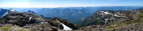 Sutton Peak Summit Panorama