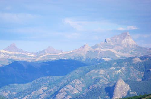Wetterhorn and Uncompahgre