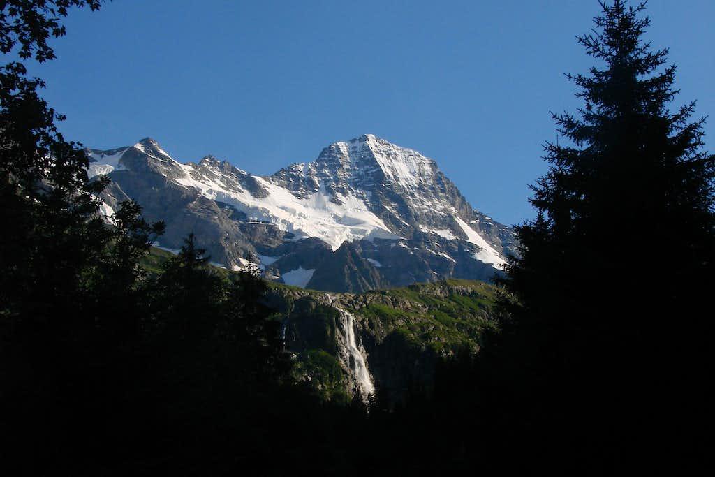 Breithorn from Trachsellauenen