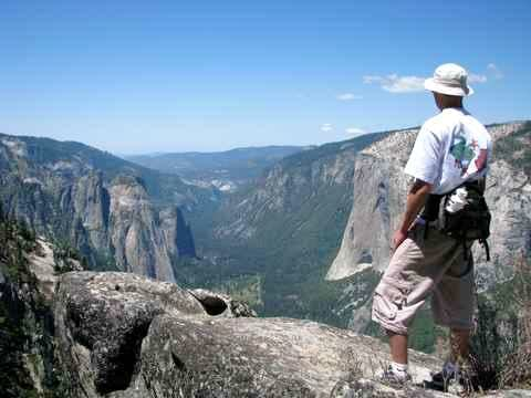Hiking in Yosemite Valley