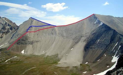 WCP 9 and Lee peaks routes
