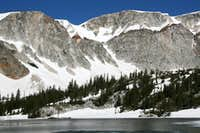 Mirror Lake and Lookout Couloirs