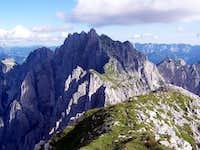 Zuc dal Bôr seen from Monte Chiavals