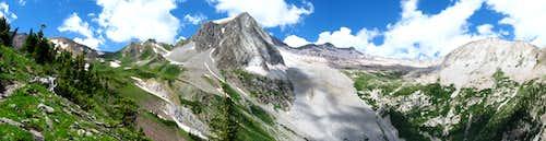 Snowmass Peak + Snowmass Mountain