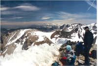 Looking SE from the summit....