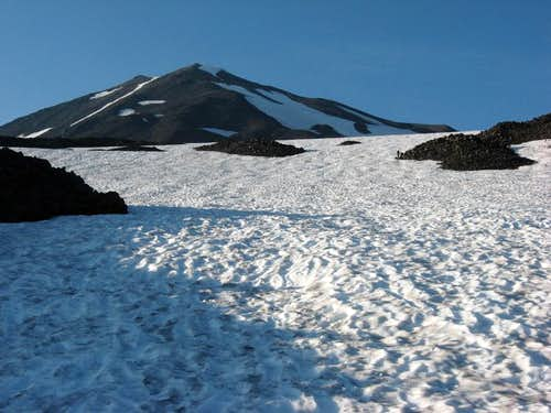 Snowfield at 8300\'