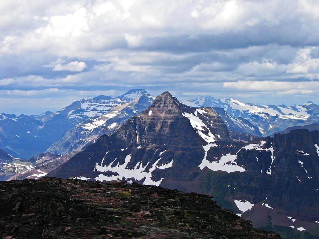 Mount Rockwell, fronting a magnificent landscape