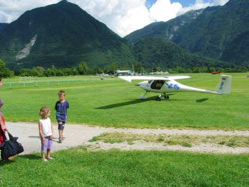 Bovec Airplane