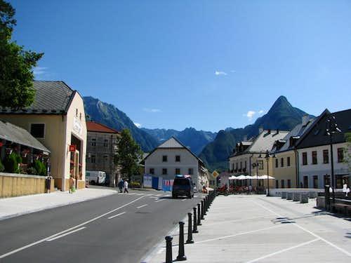 Bovec center