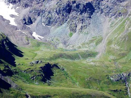 il lago del Money (2558 m.)
