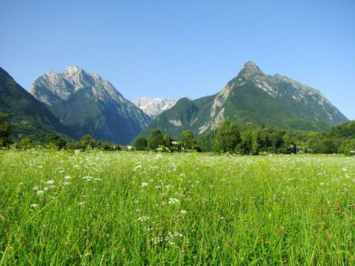 Classic view from Bovec
