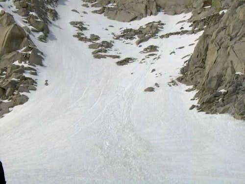 North Couloir close-up (~11...