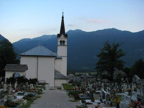 Church in Bovec