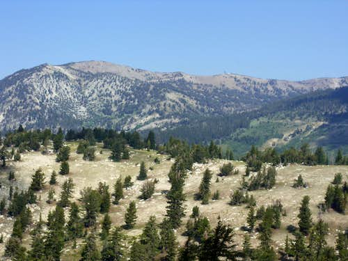 View of the Relay Ridge from Point 9089