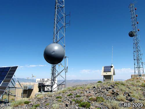 Ellen D Mountain summit