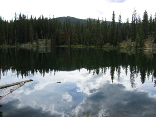 Lost Lake and Gravel Mountain
