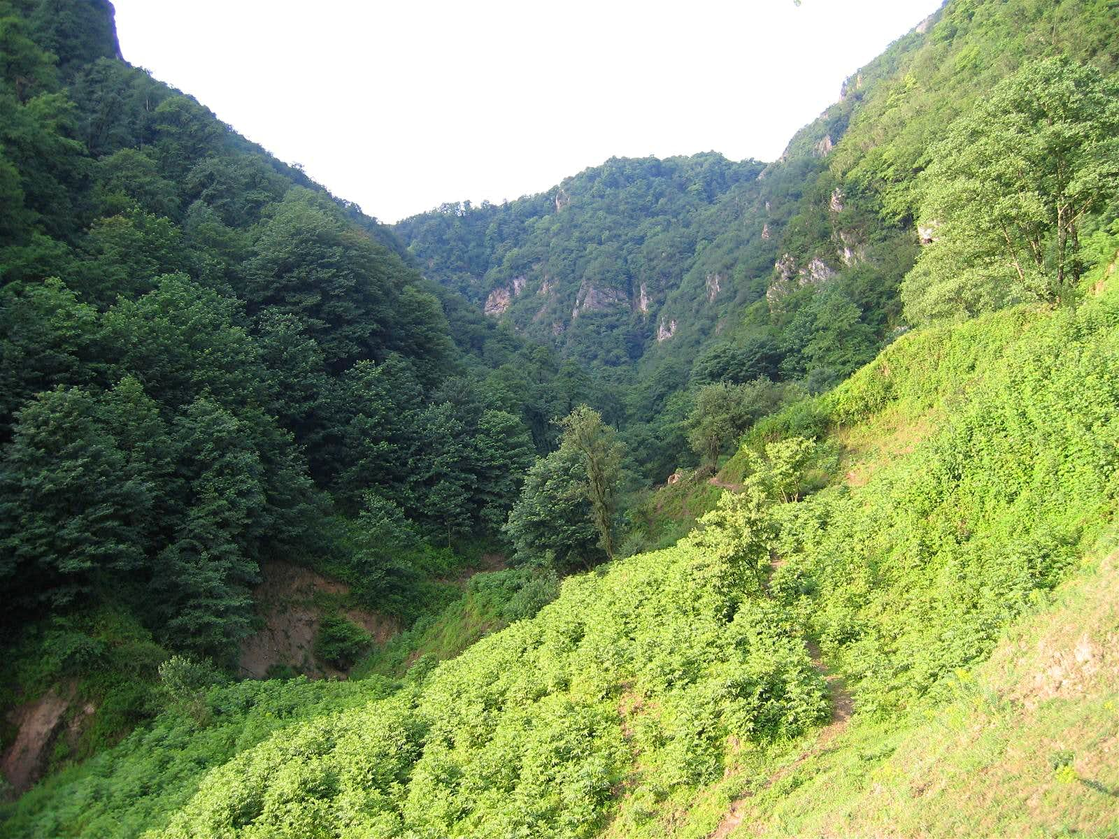Kojoor (to Caspian Sea) Canyon