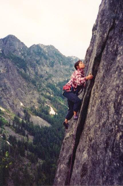 Amy Teo begins climbing the...