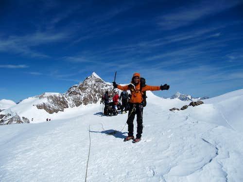 Olle on the summit